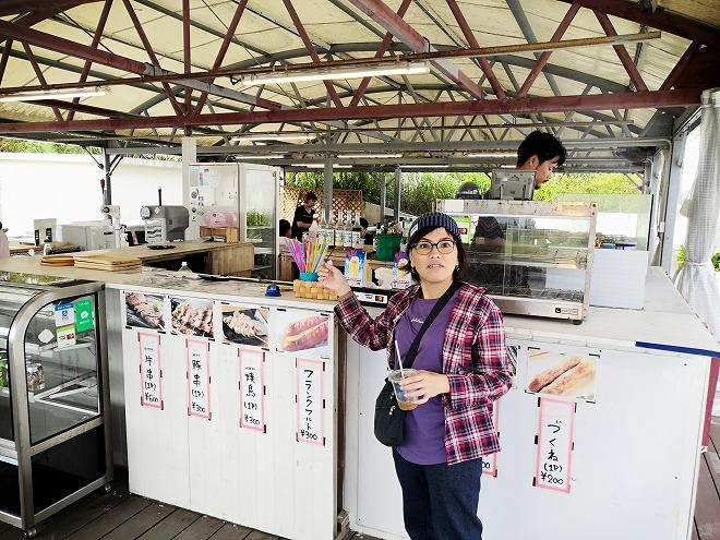 豊見城市 瀬長島ウミカジテラスの焼き串屋さん