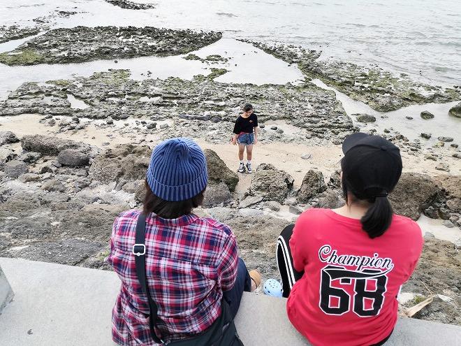 豊見城市 瀬長島ウミカジテラスの海