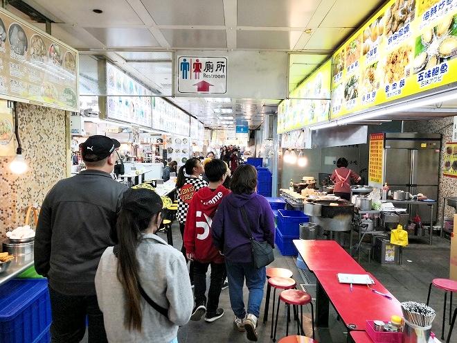 士林市場地下美食街