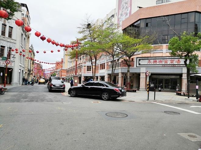 台北市大同区 迪化街商圈(大稲埕)「永楽布業商場」外観