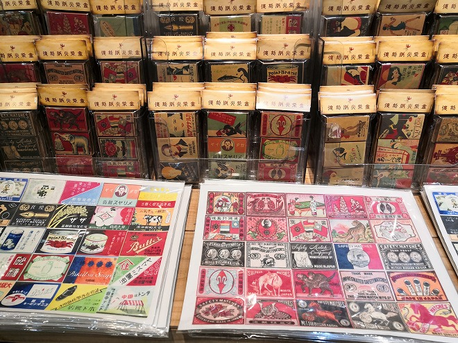 台北市大同区 迪化街商圈(大稲埕)おしゃれ雑貨屋「老桂坊」昭和レトロなマッチ