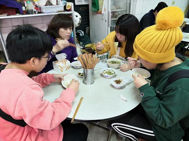 台北市大同区 迪化街商圈(大稲埕)の食堂の滷肉飯