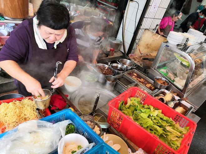 台北市大同区 迪化街商圈(大稲埕)の食堂
