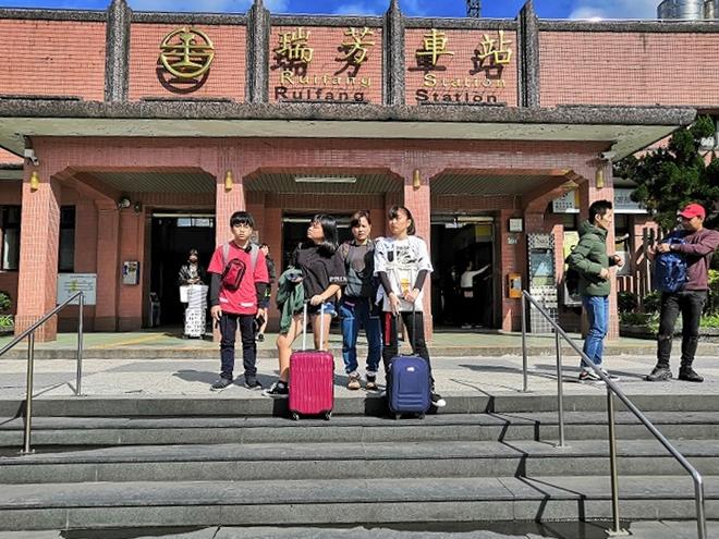 台鉄(台湾鉄道)瑞芳駅