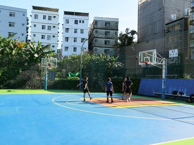 淡江大学 バスケットボールコート