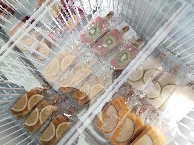 淡水 BITI 新鮮フルーツのアイス屋さんのアイス