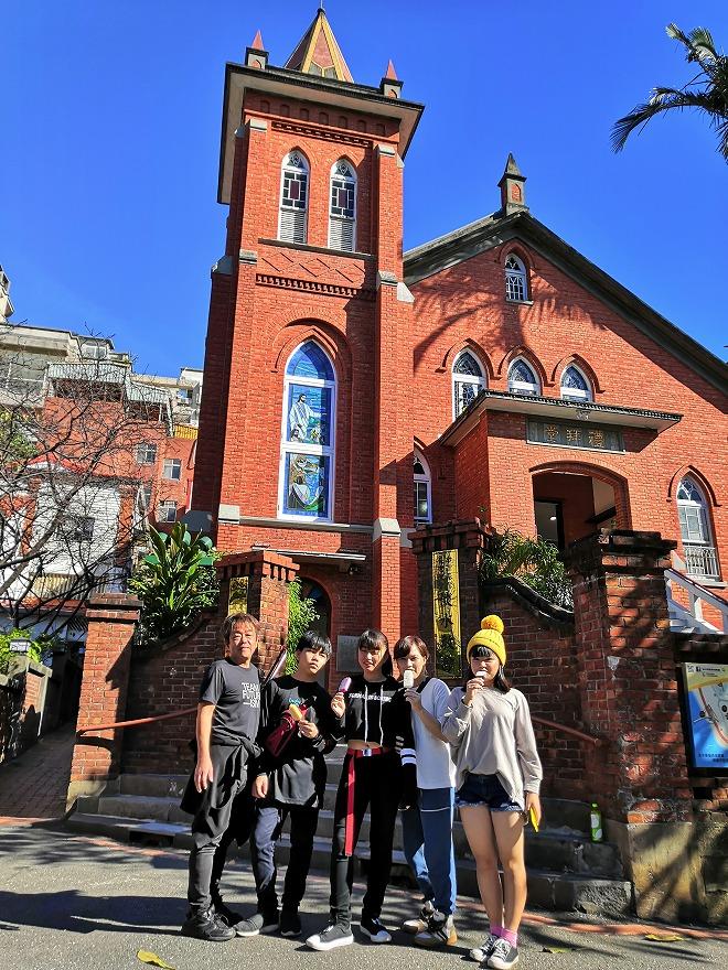 台湾キリスト教長老教会の淡水教会(台湾基督長老教会淡水教会)