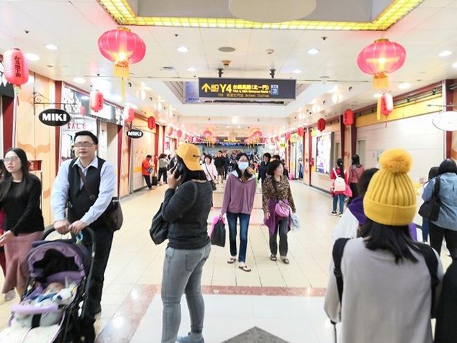 台湾 台北駅地下街