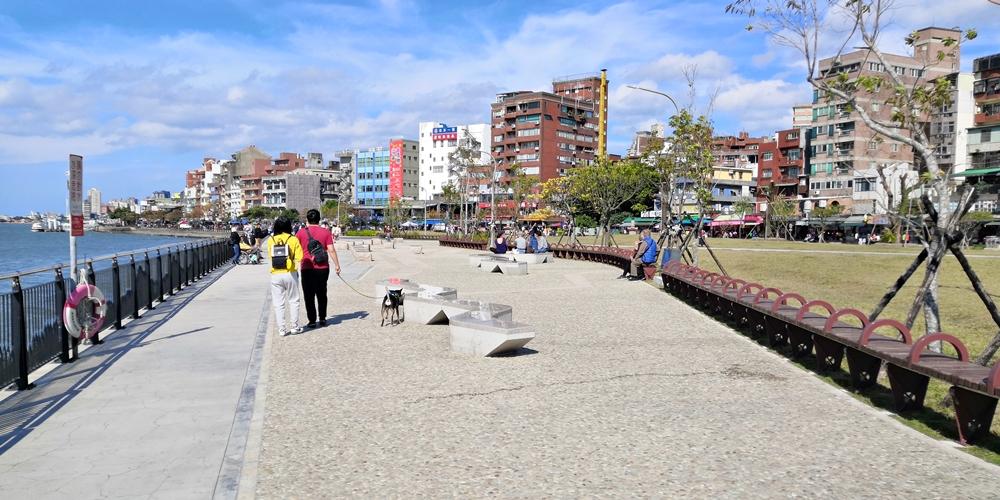 台湾 新北市 淡水金色水岸