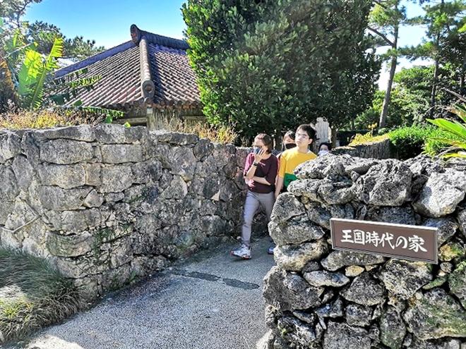 沖縄海洋博公園・おきなわ郷土村 王国時代の家