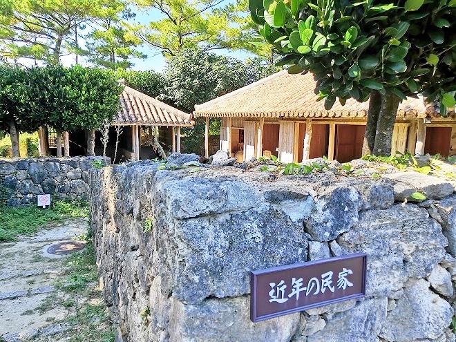 沖縄海洋博公園・おきなわ郷土村 近年の民家