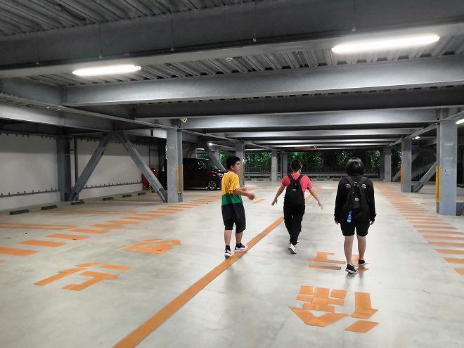 沖縄美ら海水族館 P9駐車場