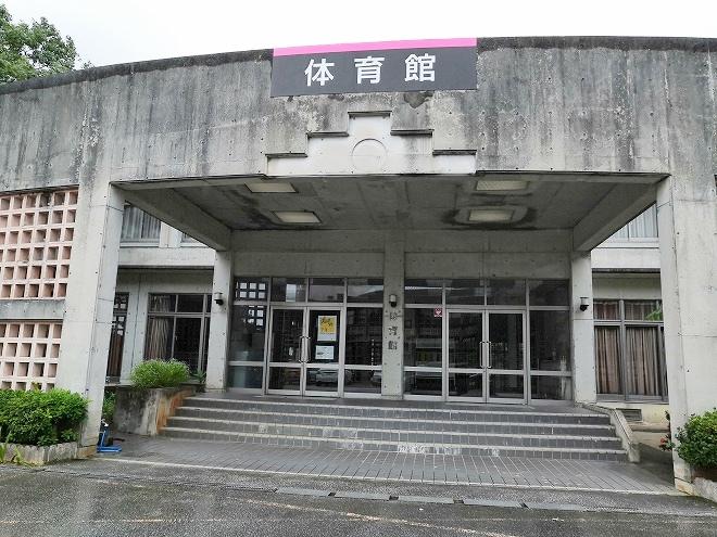 沖縄-県道84号名護本部線 体育館