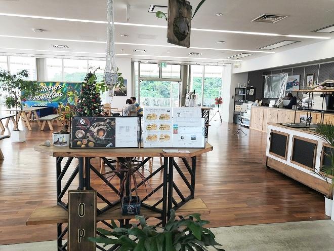 沖縄 宜野座村 道の駅ぎのざ 二階「COFFEE & BREAK GINOZA FARM LAB」