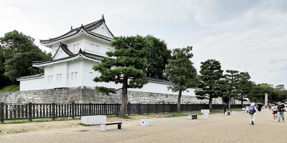 京都 世界遺産 元離宮 二条城 重要文化財「東南隅櫓」