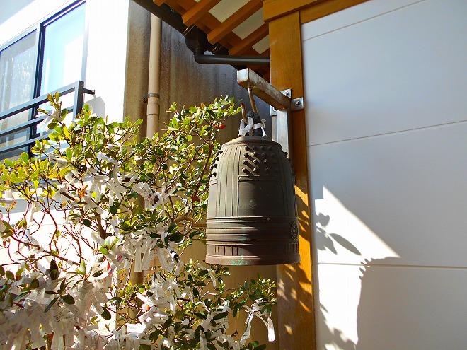 首里 西来院(達磨寺)小さな鐘楼