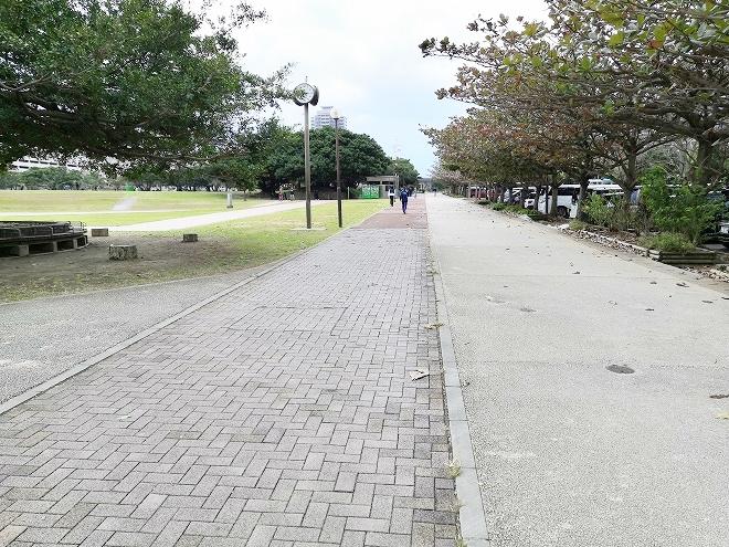 那覇新都心公園 ジョギングコース
