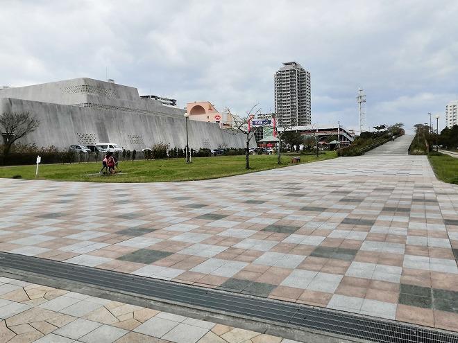 那覇新都心公園「沖縄県立博物館・美術館」