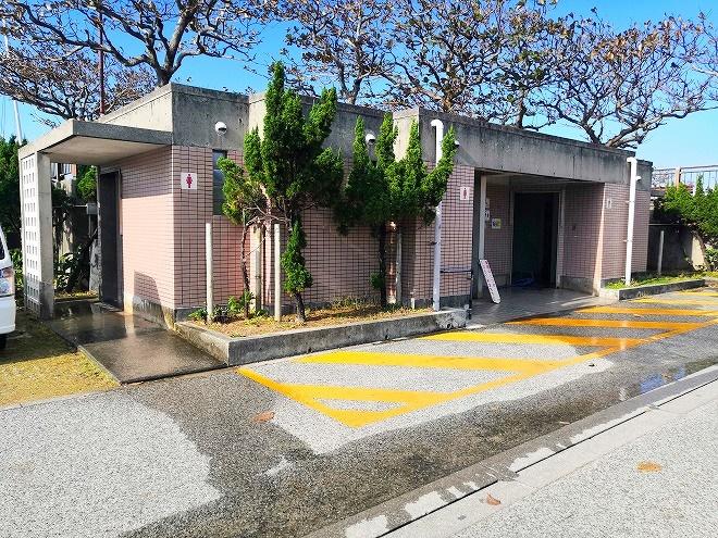 宜野湾トロピカルビーチ トイレ