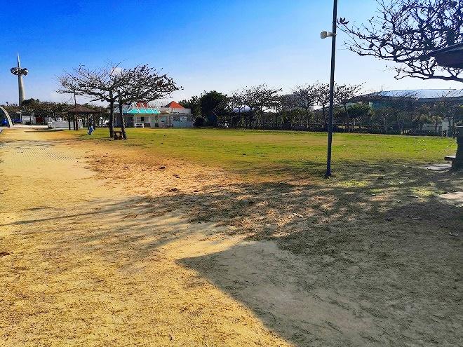 宜野湾トロピカルビーチ 広場