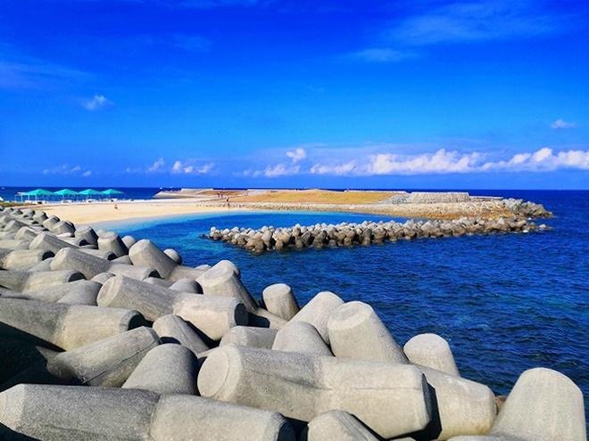 トロピカルビーチのマリンジェット用ビーチ