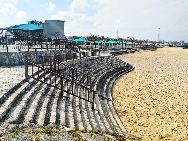 宜野湾トロピカルビーチ 白砂のビーチ