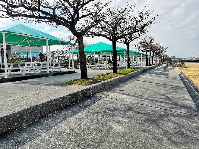 宜野湾トロピカルビーチ 貸しテント