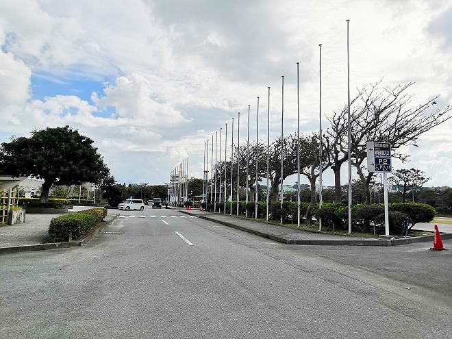 宜野湾市 沖縄コンベンションセンター 駐車場