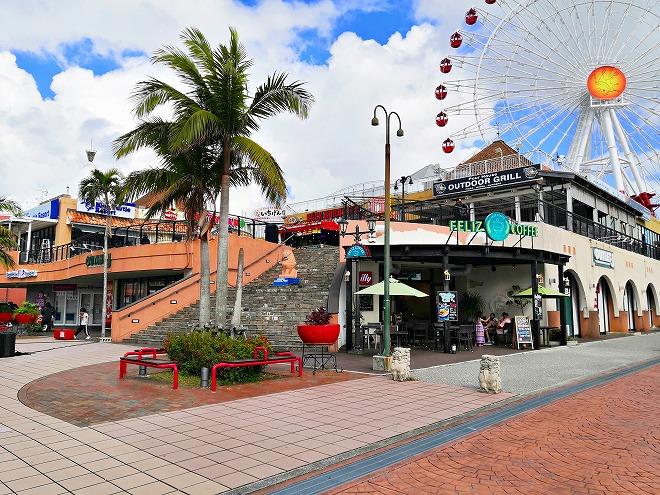 沖縄県内唯一の観覧車「SKYMAX60」を有する複合施設「北谷町カーニバルパーク・ミハマ」