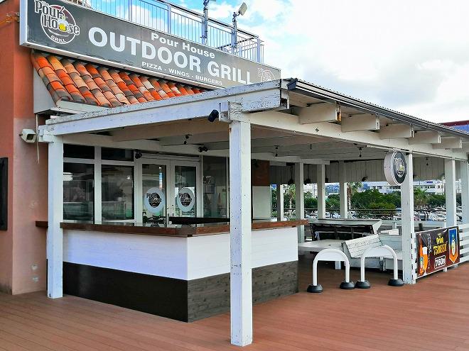 北谷町カーニバルパーク・ミハマ2階テラス「OUTDOOR Grill」