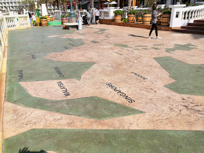 北谷デポアイランド・シーサイド サンセットウォーク北谷 沖縄を中心にした地図
