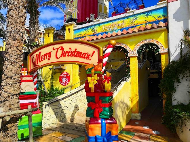 北谷デポアイランド・シーサイド サンセットウォーク北谷「Merry Christmasの看板」