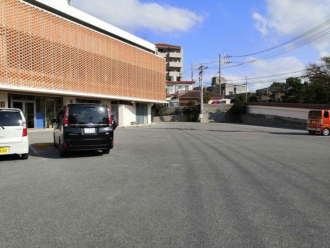 那覇市首里 慈眼院(首里観音堂)慈眼院の駐車場