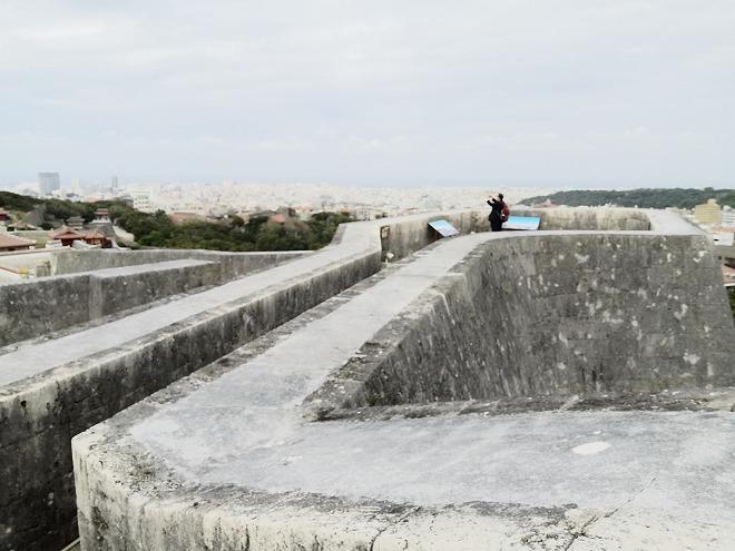 那覇 首里城「東のアザナ」