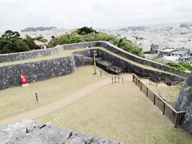 那覇 首里城「東のアザナ」から見た景色
