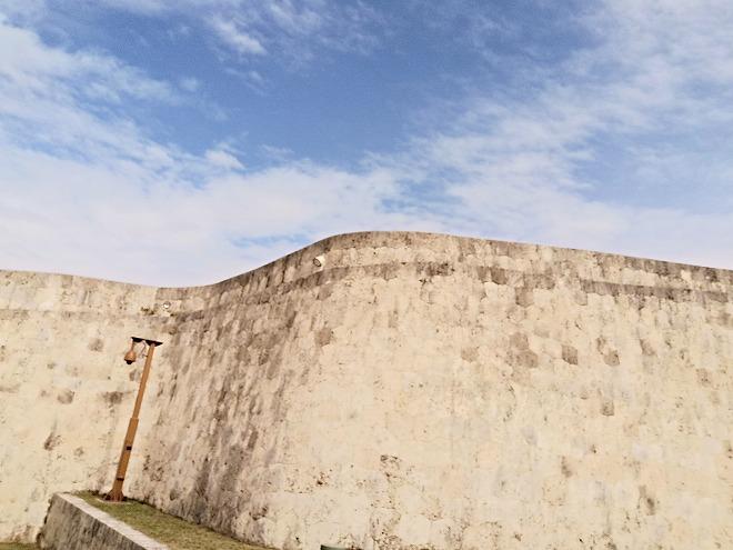 那覇 首里城の城壁