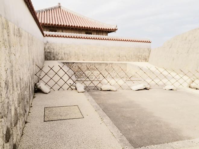 那覇 首里城 女官たちの浴場だった「湯屋(ゆや)」の跡