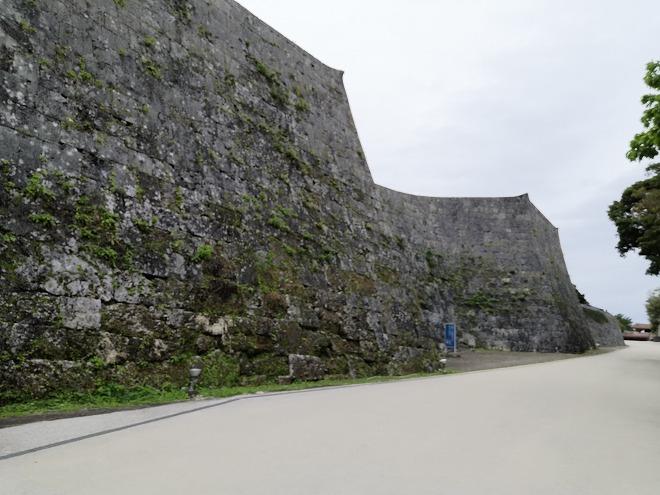 那覇 首里城 城壁