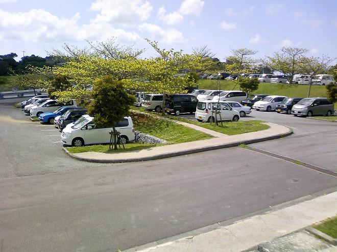 沖縄県 うるま市 倉敷ダム公園 駐車場