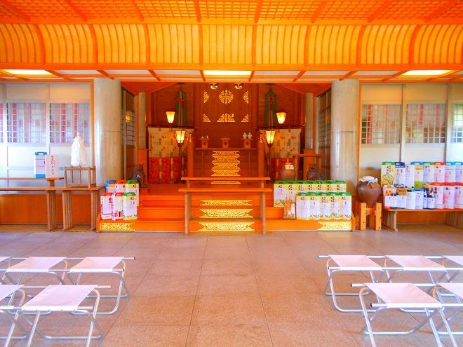 那覇 琉球八社 識名宮の拝殿