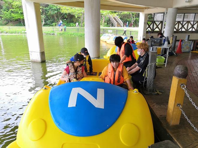 沖縄市・沖縄県総合運動公園「望水亭」4人乗りボート
