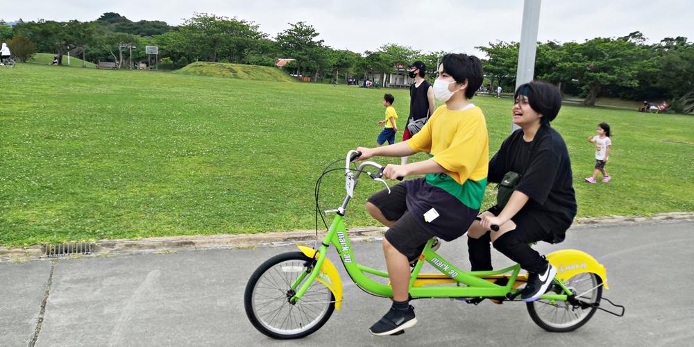沖縄市・沖縄県総合運動公園(県総) レンタル自転車