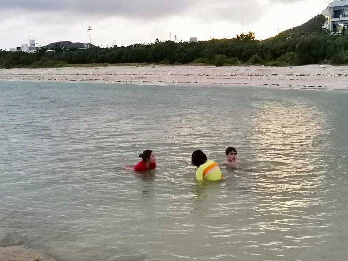 沖縄県金武町 伊芸海浜公園 伊芸ビーチ