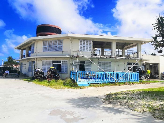 沖縄県うるま市 宇堅ビーチ 管理事務所