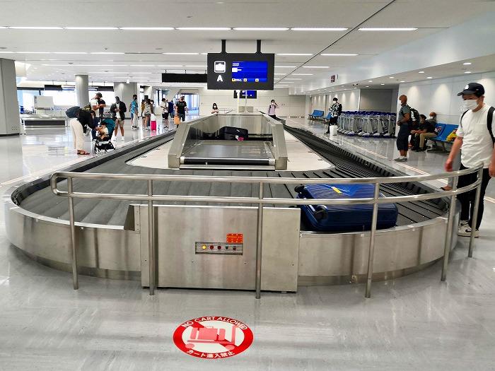 成田空港国内線 預け荷物受取所