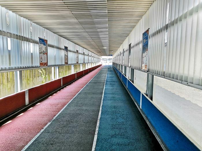 成田国際空港第2ターミナル1階から第3ターミナルへの順路