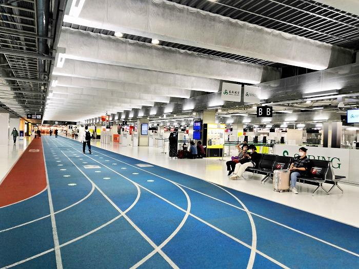 成田国際空港 第3ターミナル航空会社カウンター