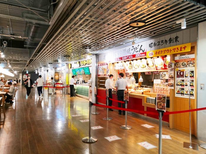 成田国際空港 第3ターミナル2階 フードコート