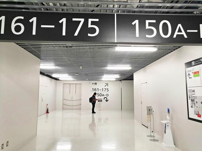 成田国際空港 第3ターミナル サテライト搭乗待合室」への順路