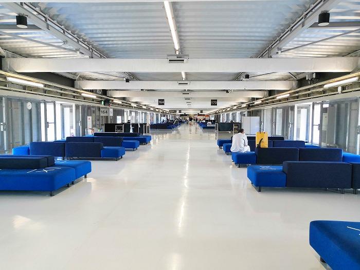 成田国際空港 第3ターミナル サテライト搭乗待合室